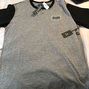 Men's XL Brixton Shirt New With Tags